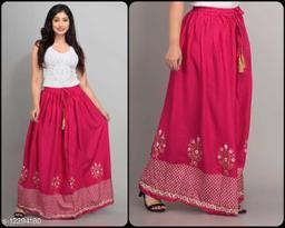 Abhisarika Alluring Women Ethnic Skirts