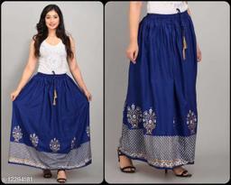Aagyeyi Fabulous Women Ethnic Skirts