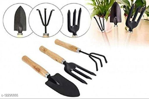 gardening tools (big size) with cultivator,trowel&weeding fork[all 3]