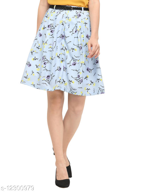 Yuvraah Women's Printed Skirt