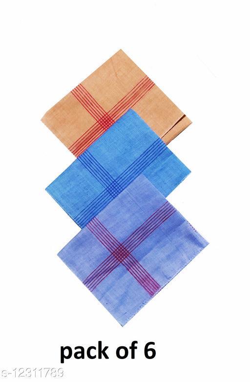 Mens Cotton Handkerchief (pack of 6)