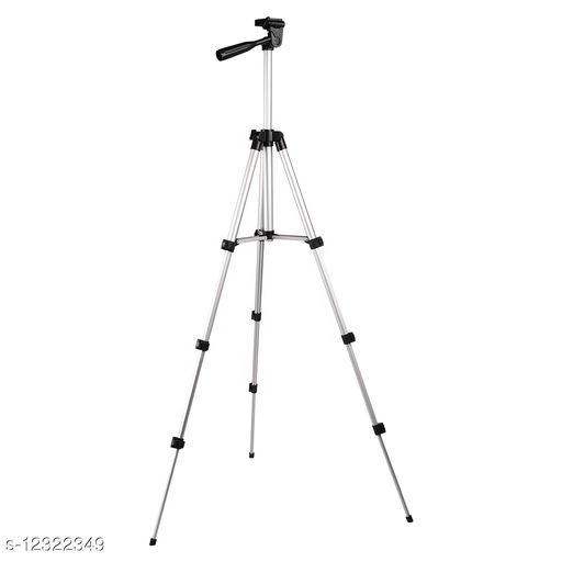 3110 Light Weight Aluminum Tripod With Bag Includes Universal Smartphone Mount