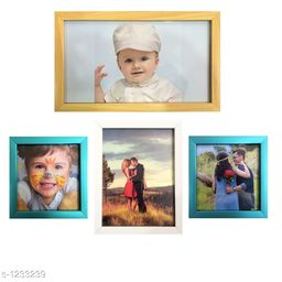 Synthetic Wood Photo Frame