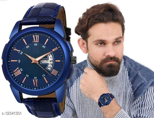 Bolun Rishtey Day Date 32BL Analog Watch For Men And Boys