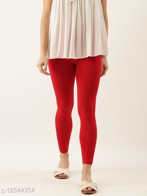 Zebu women's ankle length leggings (Pack of 1)