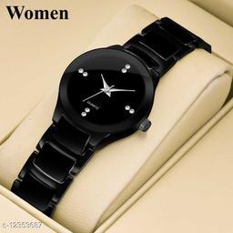 Bolun Black Metal Best Collection Women Wrist Watch
