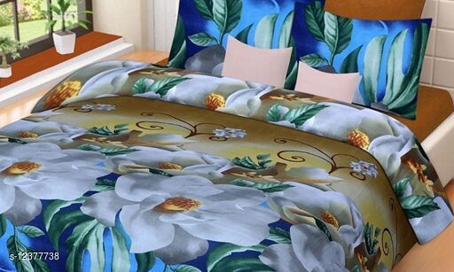 Ravishing Fashionable Pure Microfiber 88 X 88 Double Bedsheets