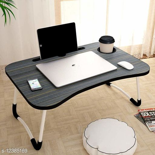 Laptop Adaptor Smart Multi-Purpose Laptop Table with Dock Stand/Study Table/Bed Table/Foldable and Portable/Rounded Edges/Non-Slip Legs (WOODEN) Product Name: Smart Multi-Purpose Laptop Table with Dock Stand/Study Table/Bed Table/Foldable and Portable/Rounded Edges/Non-Slip Legs (WOODEN) Brand Name: SHIV ENTERPRISE Color: Grey Compatibility: Laptops Multipack: 1 Country of Origin: India Sizes Available: Free Size   Catalog Rating: ★4.3 (592)  Catalog Name: SHIV ENTERPRISE Laptop Adapters CatalogID_2382759 C106-SC1537 Code: 475-12385169-