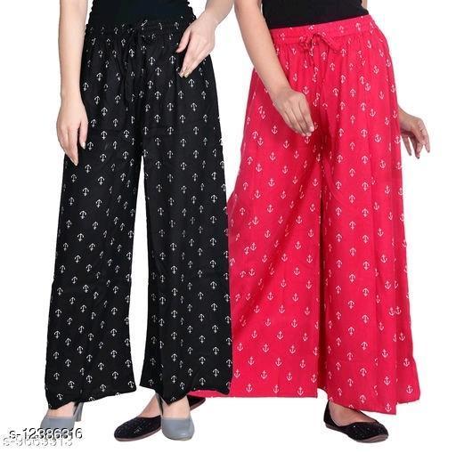 goregeous trendy Women's Palazzos combo 2pes