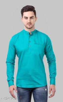 Shopping Santa Sea Green Shirt