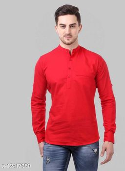 Shopping Santa Red Shirt