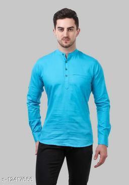 Shopping Santa Aqua Blue Shirt