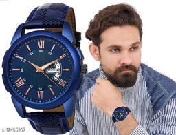 MissPerfect Rishtey Day Date 32BL Analog Watch For Men And Boys