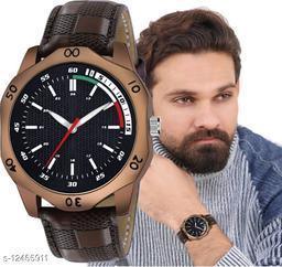 MissPerfect Rishtey Men01 Brown Analog Watch For Men And Boys
