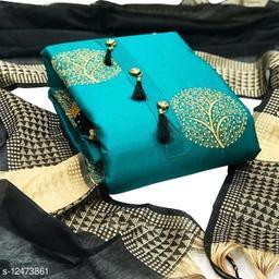 Latest New Glace Cotton Slawar suit & Dress Material
