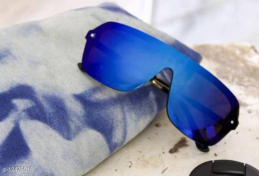 onepiece shield blue mercury sunglasses