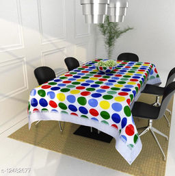 Kingly Home dining table cover 4 seater square ( 40 x 60 Inches )