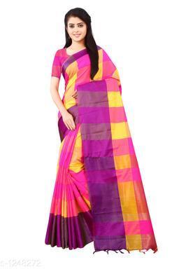 Attractive Litchi Silk Saree