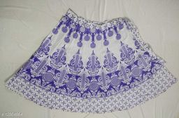 Aagam Fashionable Women Ethnic Skirts