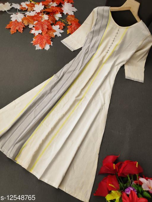 YB Trends New Designer Linnen Cotton kurti
