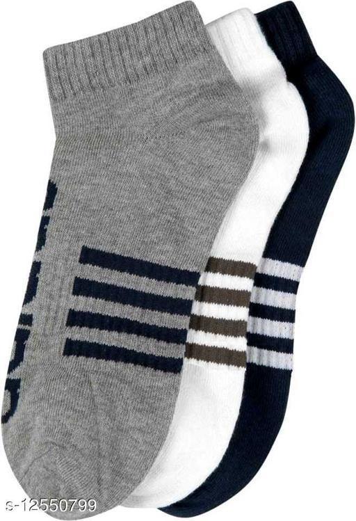 Ankle Branded Sport Socks (Pack of 3)