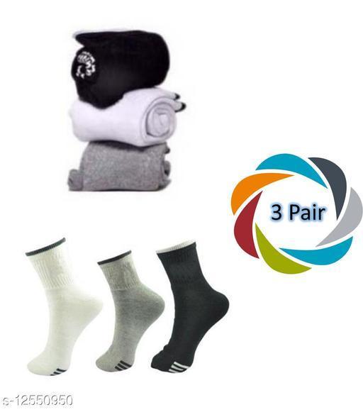 Ankle Best Branded Sport Socks (Pack of 3)