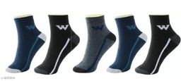 Fuku Unique Ankle Premium Quality Socks W Style (Pack of 5)