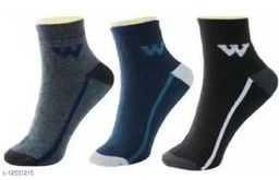 Fuku Unique Ankle Premium Quality Socks W Style (Pack of 3)