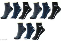 Fuku Unique Ankle Premium Quality Socks W Style (Pack of 9)