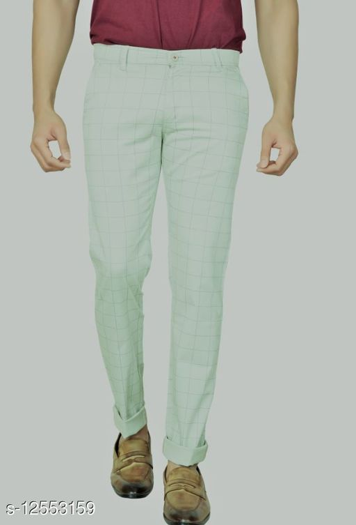Stylish Checks Trouser