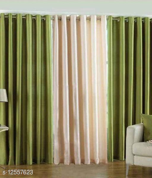Classy Long Door Curtains Combo