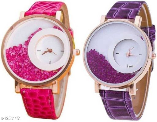 Miss Perfect Purple Cmobo Watch For Girls Watch - For Girls Analog Watch