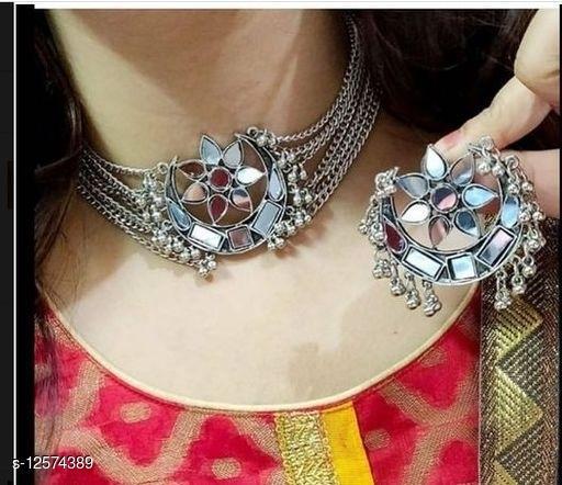Mirror work Trendy Jewellery Set
