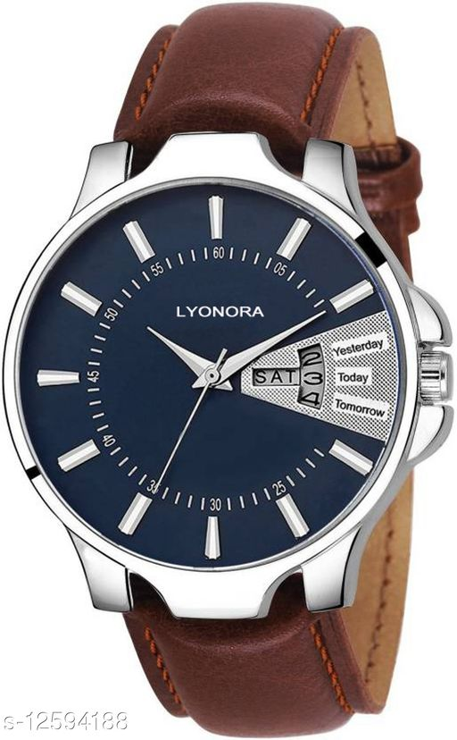 Unique New Day & Date Analog Watch - For Men