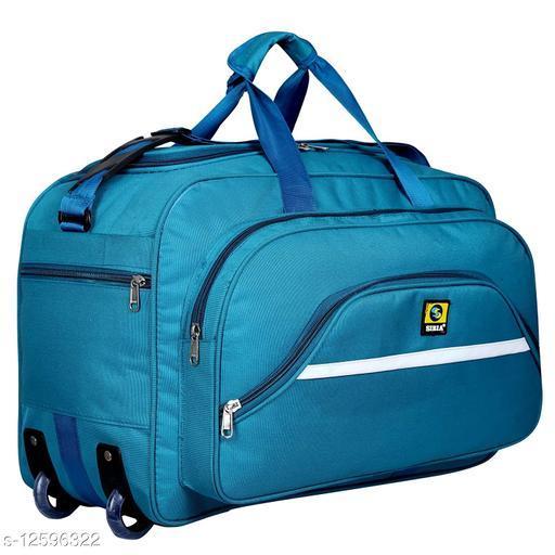 Trendy Men's Blue Duffel Bags