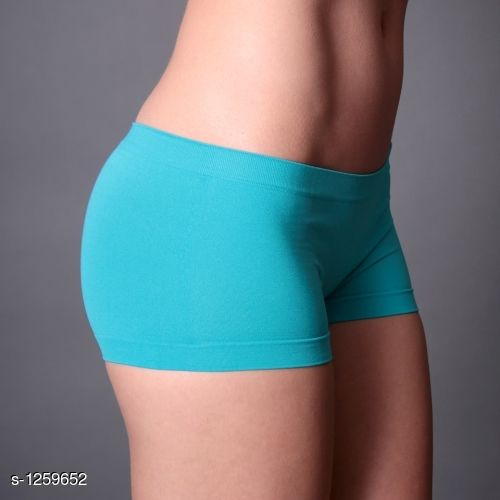 Sports Bra Trendy Cotton Women's Shorts  *Fabric* Spandex  *Size* Up to 30 In To 36 In  (Free Size)  *Length* Up to 15 In  *Type* Stitched  *Description* It Has 1 Piece Of short  *Pattern* Solid  *Sizes Available* Free Size *   Catalog Rating: ★3.9 (18)  Catalog Name: Comfy Cotton Women's Shorts Vol 1 CatalogID_159609 C79-SC1409 Code: 102-1259652-