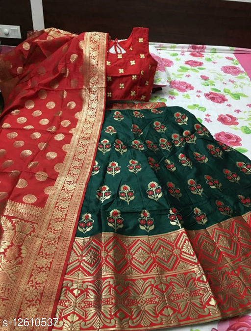 VS Fashion Fancy Jacquard Lehenga Choli