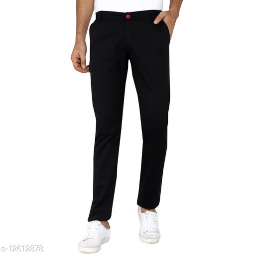 Made In The Shade Men's Slim Fit Trouser, Black
