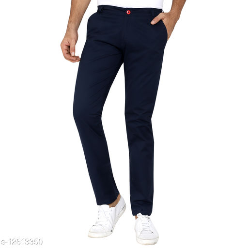 Made In The Shade Men's Slim Fit Trouser, Navy