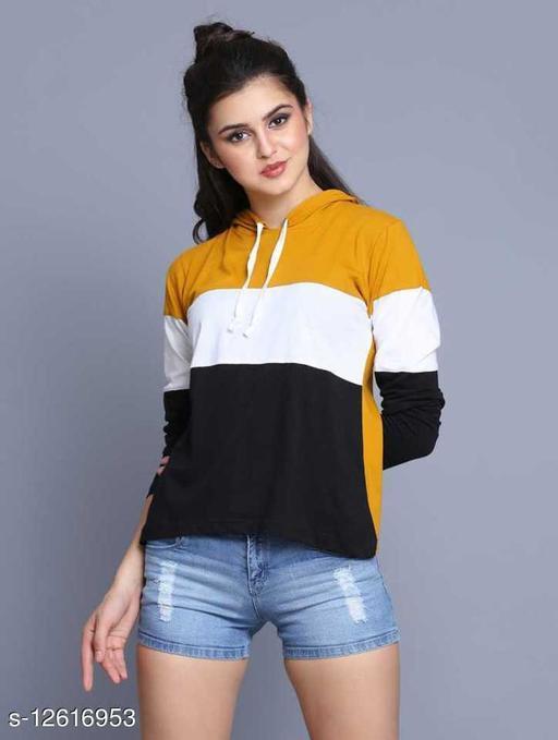 Shopping Santa Women's Comfy Yellow Sweatshirt