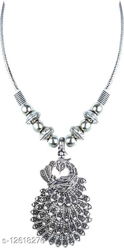 Beautiful Classic Oxidised Necklace for Women and Girls