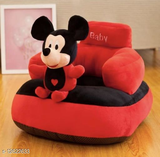 DOODLE ADORABLE VELVET BABY CHAIR SEAT