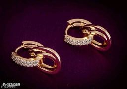 Rose Gold Plated Princess Fusion Earrings