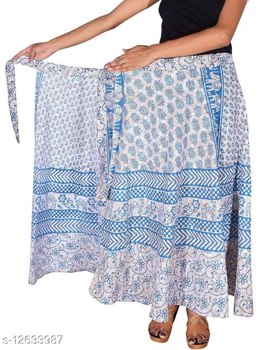 Trendy Alluring Women Ethnic Skirts