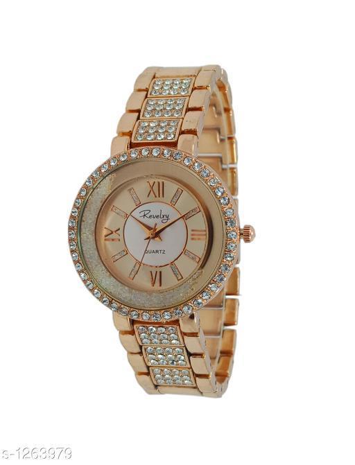 Allure Women's Metal Wrist Watche