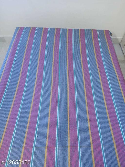 cotton Handmade SUPER QUALITY bedsheet  cum dhurrie for multipurose uses