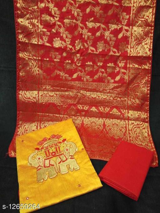 Moddal silk elephant work top with lining