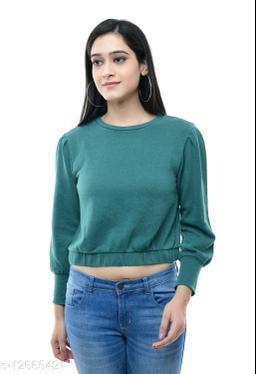 Urbane Glamorous Women Sweatshirts