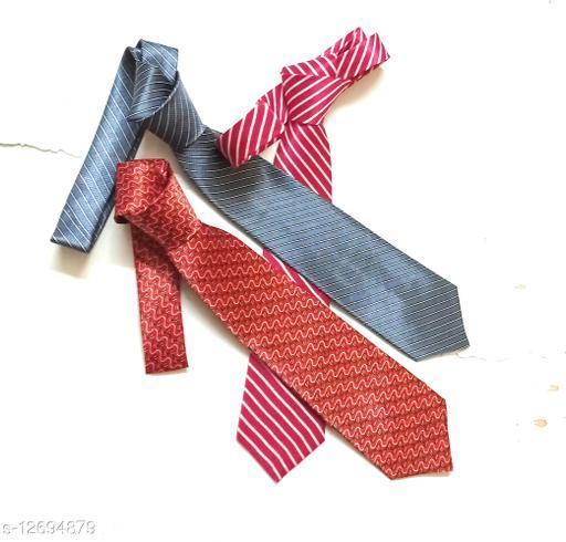 Printed ties -pack of 3
