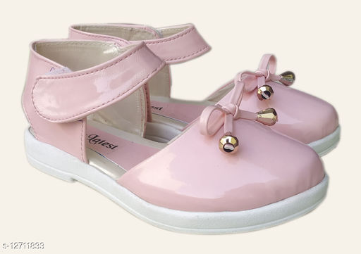 Stylish Baby Patent Leather Pink Sandals